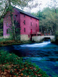 Alley Mill at Alley Spring, Ozarks National Scenic Riverways, Ozark National Park, Missouri Photographic Print by John Elk III
