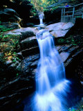 Kancamagus Highway Sabbaday Falls, New Hampshire Photographic Print by John Elk III