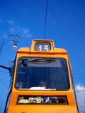 Tram on Bridge Ponte Vittorio Emanuele I, Turin, Piedmont, Italy Photographic Print by Martin Lladó