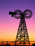 Windmills at American Wind Power Center, Lubbock, Texas Photographic Print by Richard Cummins