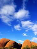 Kata Tjuta, Uluru-Kata Tjuta National Park, Northern Territory, Australia Photographic Print by John Banagan