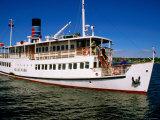 Roskilde Fjord Tour Boat, Roskilde, Denmark Photographic Print by John Elk III