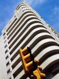 Edificio Lapido, Built in 1930 Art Deco Style, Avenida 18 de Julio, Montevideo, Uruguay Photographic Print by Krzysztof Dydynski