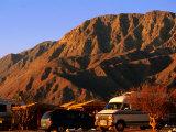 Campground with Mountain Background, Bahia de Los Angeles, Baja California, Mexico Photographic Print by John Elk III