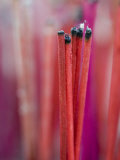 Incense Sticks, Bangkok, Thailand Photographic Print by Brent Winebrenner