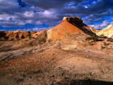 Eroded Landscape, Painted Desert, Coober Pedy, South Australia Photographic Print by Ross Barnett
