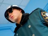 South Korean ROK Soldier, Dmz, Seoul, South Korea Fotografisk tryk af Anthony Plummer