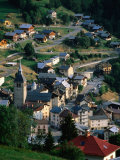 Village, Hauteluce, Savoie Tarentaise, France Photographic Print by John Elk III
