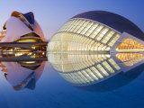 Palau de les Artes, Valencia, Spain Photographic Print by Greg Elms