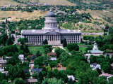 Utah State Capitol, Salt Lake City Photographic Print by Holger Leue