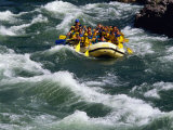 White-Water Rafting in Snake River, Jackson Hole, Jackson, Wyoming Photographic Print by John Elk III