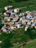 Village, Le Chazalet, Rhone-Alpes, France Photographic Print by John Elk III