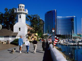 Seaport Village in San Diego, San Diego, California Photographic Print by Richard Cummins