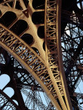 Eiffel Tower Architectural Detail, Paris, Ile-De-France, France Photographic Print by Richard I'Anson