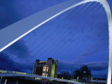 Millenium Bridge, Newcastle-Upon-Tyne, Newcastle-Upon-Tyne, England Photographic Print by Doug McKinlay