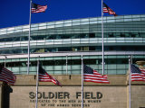 Soldier Field, Chicago, Illinois Photographie par Ray Laskowitz