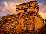 Temple of Dios Descendente, Tulum, Quitana Roo, Mexico Photographic Print by Witold Skrypczak