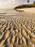 Rippled Sand at Coco Beach, Dar Es Salaam, Tanzania Photographic Print by Ariadne Van Zandbergen