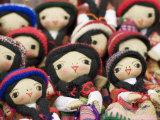 Close-Up of Bolivian Dolls for Sale, La Paz, Bolivia Photographic Print by Brent Winebrenner