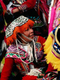 People in Traditional Clothing at Inti Raymi Festival, Cuzco, Peru Photographic Print by Richard I'Anson