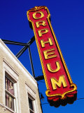 Orpheum Theater Sign, Memphis, Tennessee Photographic Print by Richard Cummins