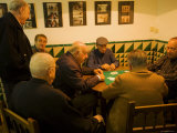 Card Players, Bar Trinquet Pelayo, Central, Valencia, Spain Photographic Print by Greg Elms