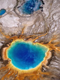 Grand Prismatic Spring, Yellowstone National Park, Wyoming Photographic Print by Holger Leue