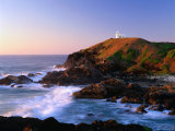 Tacking Point at Sunrise, Port Macquarie, New South Wales, Australia Photographic Print by Ross Barnett