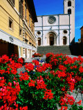 Duomo Cathedral, Piazza del Popolo, Todi, Umbria, Italy Photographic Print by John Elk III
