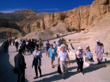 Valley of Kings, Thebes, Luxor, Egypt Photographic Print by John Elk III