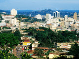 Modern Cityscape, Kampala, Kampala, Uganda Fotografie-Druck von Ariadne Van Zandbergen
