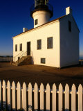 Old Point Loma Lighthouse 1854, Point Loma, Cabrillo National Monument, San Diego, California Photographic Print by John Elk III