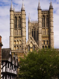 Lincoln Cathedral, Lincoln, Lincolnshire, England Photographic Print by Glenn Beanland