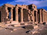 Great Hypostle Hall at the Ramesseum Built by Ramses II, Luxor, Egypt Photographic Print by John Elk III