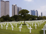 The American Memorial Cemetary at Pateros, Manila, Philippines Photographic Print by Greg Elms
