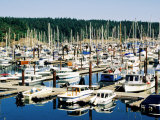 Friday Harbour in Puget Sound, San Juan Island, Washington Photographic Print by John Elk III