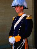 Palace Guard, San Marino Photographic Print by John Elk III