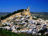 Montefrio Village as Seen from Hillside, Granada, Andalucia, Spain Photographic Print by David Tomlinson