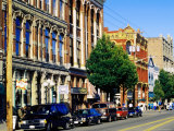 Buildings on Water Street, Port Townsend, Washington Photographic Print by John Elk III