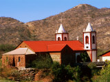 Church, el Triunfo, La Paz, Baja California Sur, Mexico Photographic Print by John Elk III