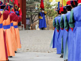 Changing of Guard Ceremony, Deoksegung, Seoul, South Korea Photographic Print by Anthony Plummer