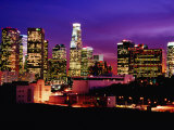 City Skyline, Los Angeles, California Photographic Print by Richard Cummins