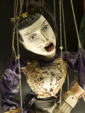 Marionet, Museu Da Marioneta, Sao Bento, Lisbon, Portugal Fotografisk tryk af Greg Elms