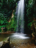 Toraille Waterfall, Soufriere Photographic Print by Holger Leue