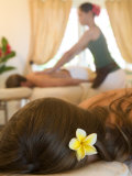 Couples&#39; Massage at Hanoa Spa, Hotel Hana-Maui, Hawaii Photographic Print by Holger Leue