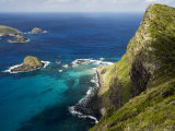 Ocean and Rocky Outcrops from Kims Lookout, Lord Howe Island, New South Wales, Australia Photographic Print by Bethune Carmichael