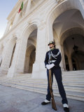 Guard at Palacio de Sao Bento, Sao Bento, Lisbon, Portugal Photographic Print by Greg Elms