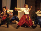 Traditional Folk Dance Performance, Ukraine, Odessa Photographic Print by Holger Leue