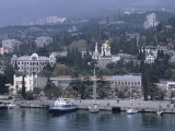 Waterfront, Crimeayalta, Ukraine Photographic Print by Holger Leue