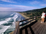Crescent Beach Overlook, Redwood National Park, California Photographic Print by John Elk III